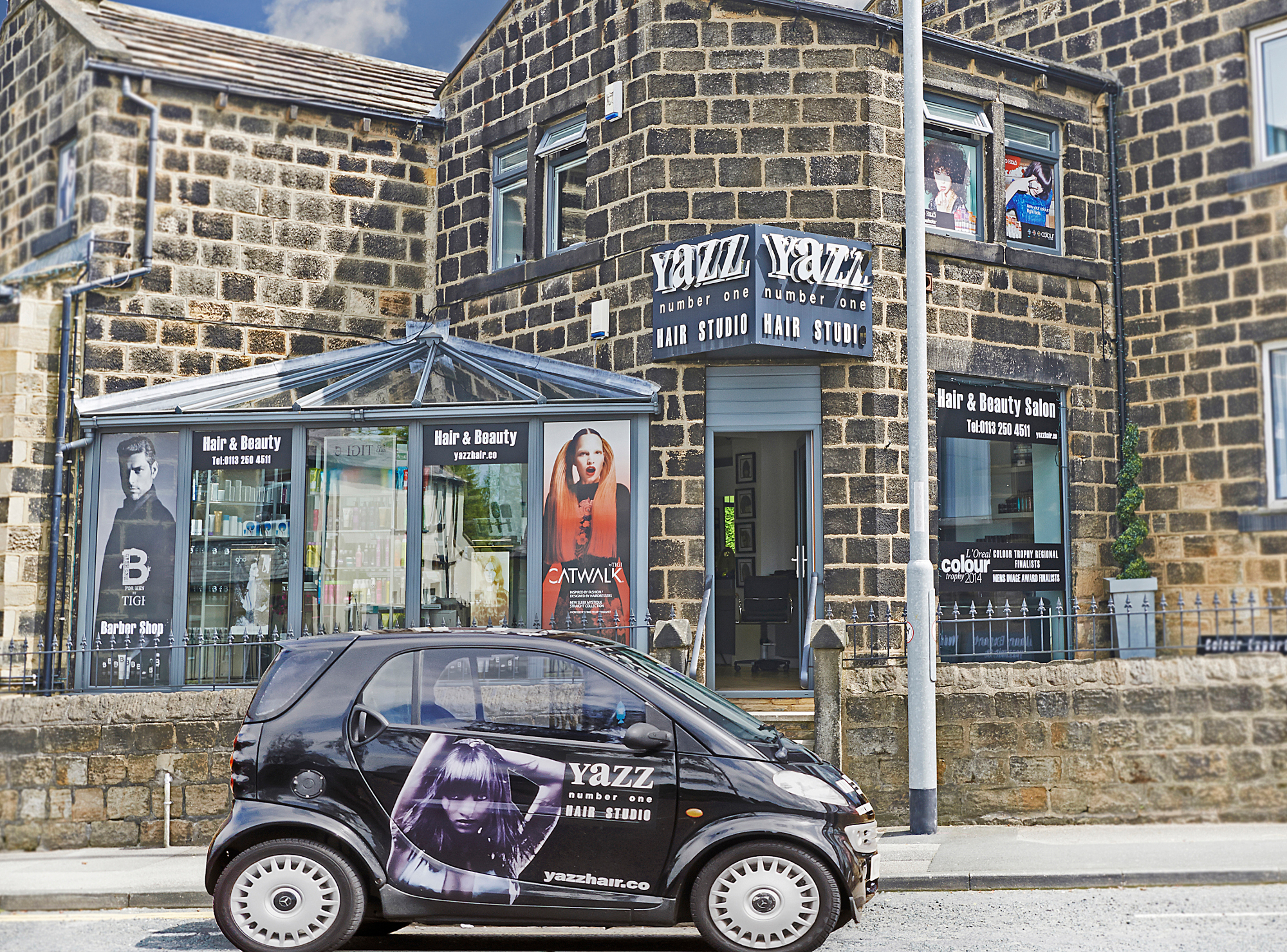 Yazz hair and beauty salon, Rawdon, Leeds