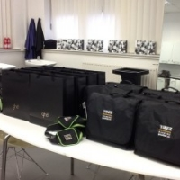 Yazz Hair Academy new student kits received by the NVQ L2 students