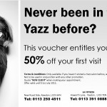 50% off voucher for new customers at Yazz Hairdressers Leeds, West Yorkshire