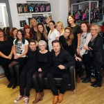 The Leeds Yazz Number One Hairdressing Team Christmass 2014