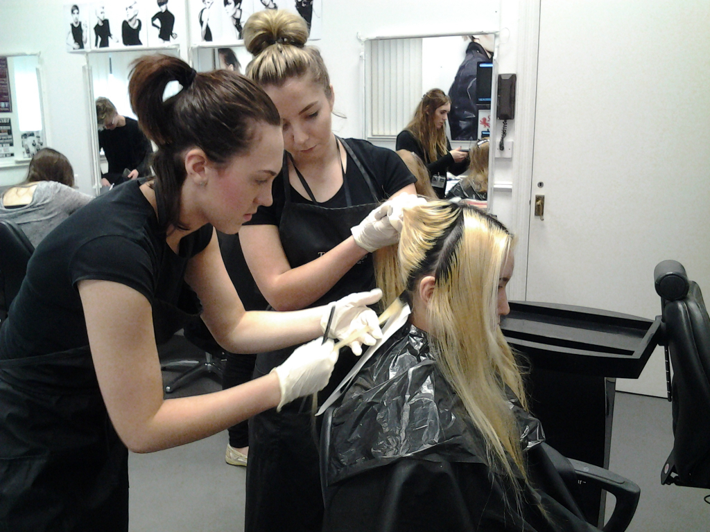 Yazz Hairdressing Academy L3 Students