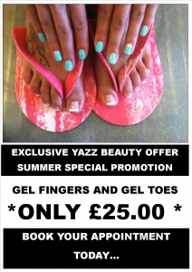 Have Perfect Nails with our August Promotion for just £25!