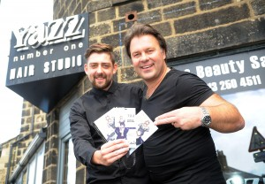 Paul and Ashley Fly from Leeds to join the Tigi World Release 2015