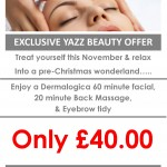 Yazz2015 Dermalogica Beauty Promotion