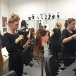 New NVQ2 students master movement blowbrys