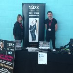 Yazz attends North Leeds Careers Advice event