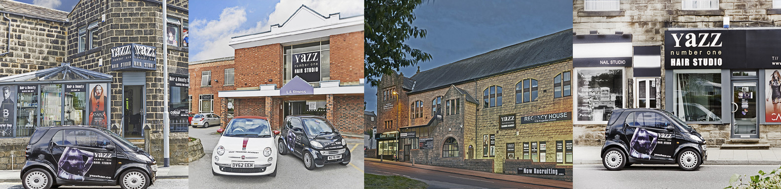 Yazz Hair Salons in Rawdon,Yeadon, and Guiseley, North Leeds, West Yorkshire.
