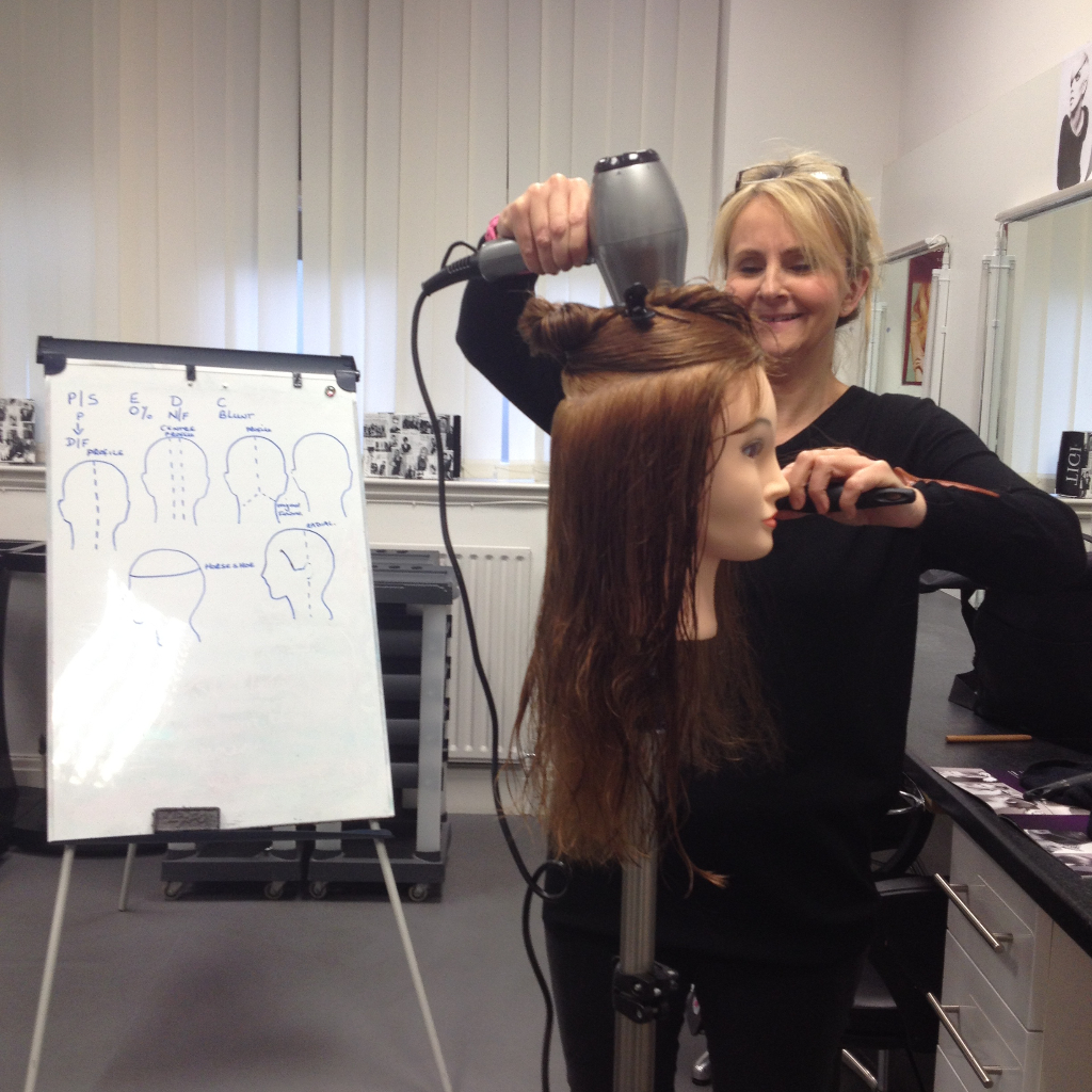 Julie Radcliffe on course to up-skill into Ladies Hairdressing