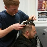 Student attending 5 Week Barbering Course with Yazz Hair Academy, Leeds, west Yorkshire, UK