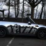 The Shiny New Yazz Car coming to the Leeds area soon!
