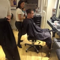 The Yazz Academy Barbering course includes a lot of pratical with live models.