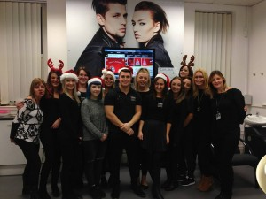 Merry Christmat 2015 from everyone at the Yazz Hairdressing Academy