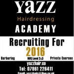 Yazz Hairdressing Academy recruting for 2016