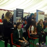 Yazz Hairdressing Academy Students attend Careers Day Fair