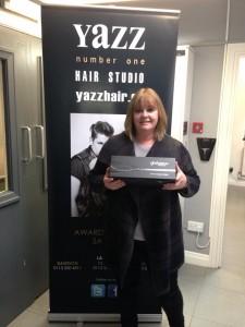 Facebook GHD Platinum Stylers Winner, Tracey Murrell