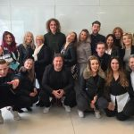 Yazz visits Tigi Cutting Academy - London