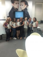 Yazz Beginners Barbering Course students with certificates!