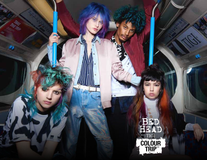 take your hair on a colour trip with tigi