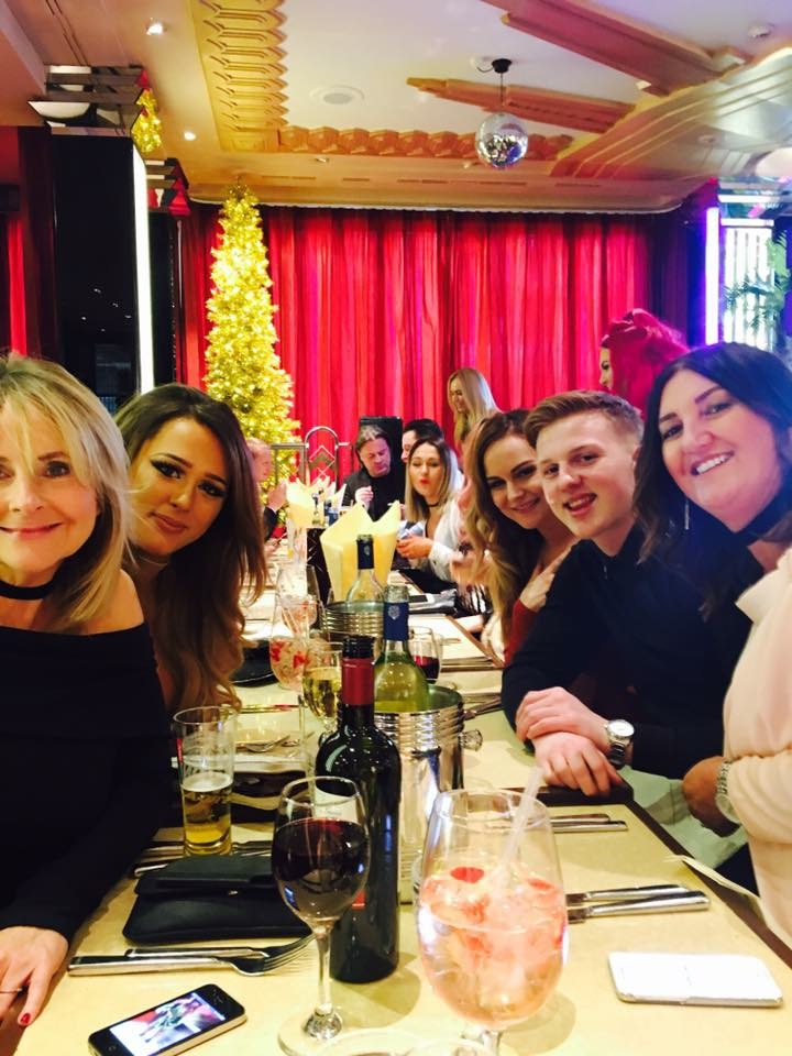 Yazz Hair and Beauty Xmas Party 2016, in Leeds City Center, West Yorkshire