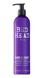 Bed Head Dumb Blonde Pruple Toninig Shampoo