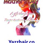 Mothers day gift idea from Yazz Number One Hair salon Guiseley, North Leeds