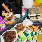 Yazz Rawdon supports the Macmillan Coffee Morning 2017