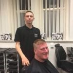 1st night of Yazz Barbering course Oct 2017