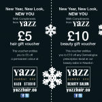 Yazz Number One Christmas Voucher side 1
