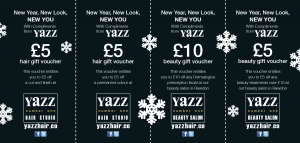 Yazz Number One Christmas Vouchers side 1
