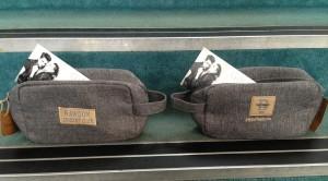 Yazz and Rawdon Cricket Club branded washbags