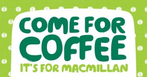 Yazz supporting the Macmillan Come for Coffee appeal