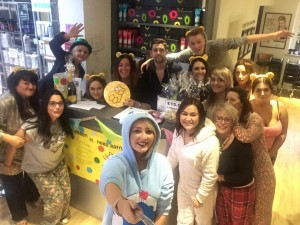 Yazz Rawdon support the Children in Need 2015 appeal