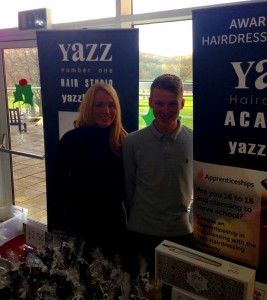 Yazz shows Tigi Christmas Gigt Sets at Woodhouse School Christmas Fair