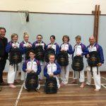 Yazz supports Baildon Karate Club