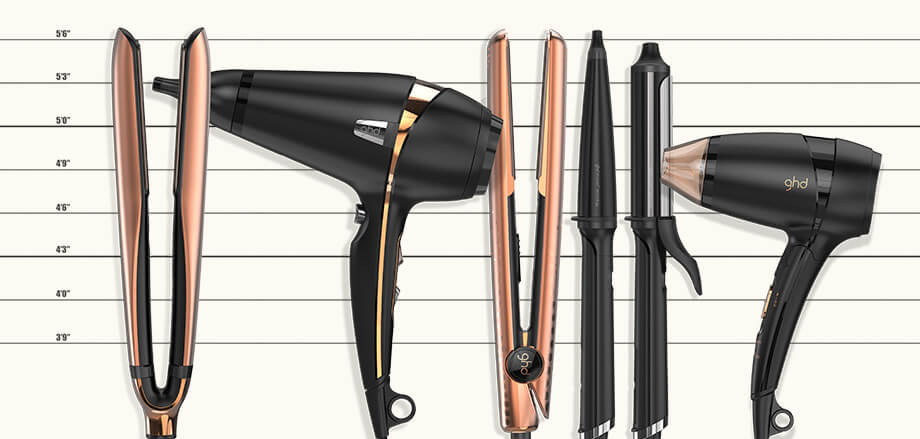GHD Copper Range Stylers, Hair Driers and Brushes