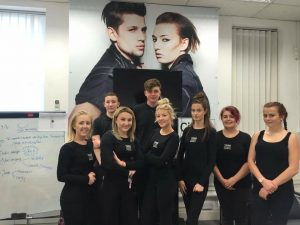 Yazz Hairdressing Academy 2016 NVQ2 Hairdressing Students enroll