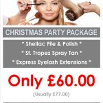 Yazz Number One Christmast Party Package for those pre-party must do's
