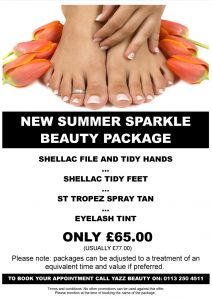 Yazz Beauty Summer Sparkle Special Offer Package